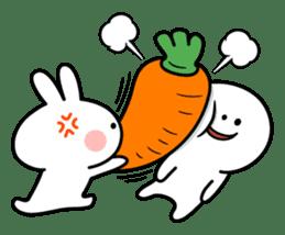"Rabbit & Smile ""Comic Duo"" sticker #12936584"