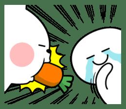 "Rabbit & Smile ""Comic Duo"" sticker #12936589"