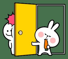 "Rabbit & Smile ""Comic Duo"" sticker #12936590"