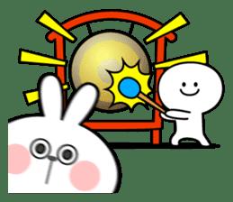 "Rabbit & Smile ""Comic Duo"" sticker #12936593"