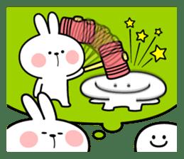 "Rabbit & Smile ""Comic Duo"" sticker #12936596"