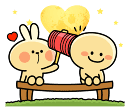 "Rabbit & Smile ""Comic Duo"" sticker #12936600"