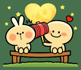 "Rabbit & Smile ""Comic Duo"" sticker #12936601"