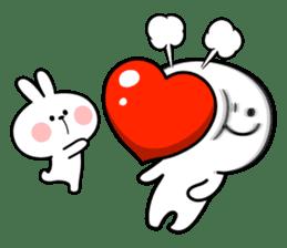 "Rabbit & Smile ""Comic Duo"" sticker #12936602"