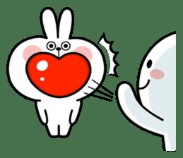"Rabbit & Smile ""Comic Duo"" sticker #12936603"
