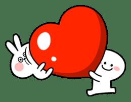 "Rabbit & Smile ""Comic Duo"" sticker #12936605"