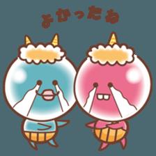 Onini_Sticker sticker #12937417