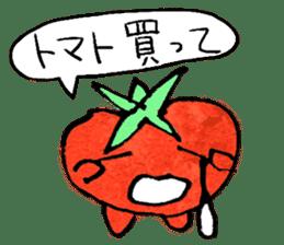 TALKING TOMATO sticker #12937631
