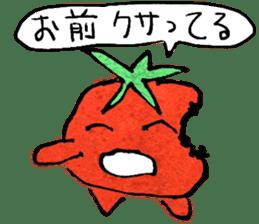 TALKING TOMATO sticker #12937633