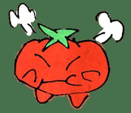 TALKING TOMATO sticker #12937635