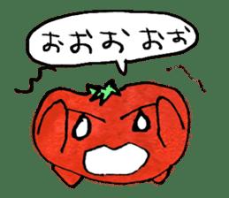 TALKING TOMATO sticker #12937637