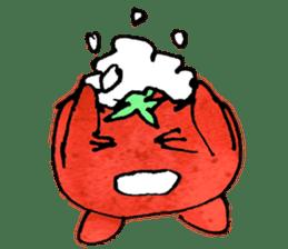 TALKING TOMATO sticker #12937638