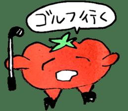 TALKING TOMATO sticker #12937642
