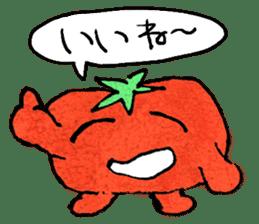 TALKING TOMATO sticker #12937644