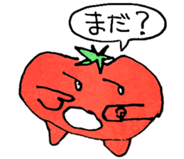TALKING TOMATO sticker #12937646