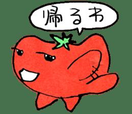 TALKING TOMATO sticker #12937647