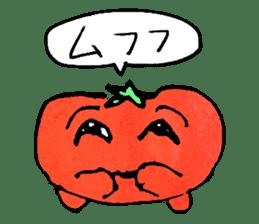 TALKING TOMATO sticker #12937651