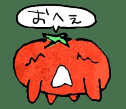 TALKING TOMATO sticker #12937652