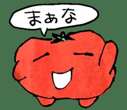 TALKING TOMATO sticker #12937655