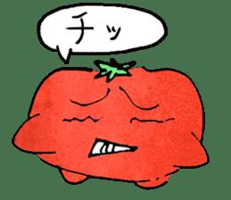 TALKING TOMATO sticker #12937656