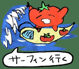TALKING TOMATO sticker #12937657