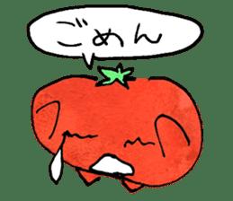 TALKING TOMATO sticker #12937659