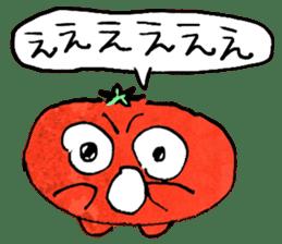 TALKING TOMATO sticker #12937661