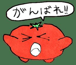TALKING TOMATO sticker #12937666
