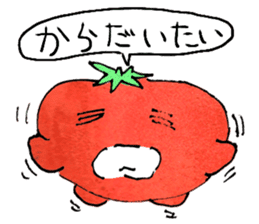 TALKING TOMATO sticker #12937667