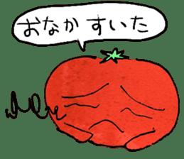 TALKING TOMATO sticker #12937668