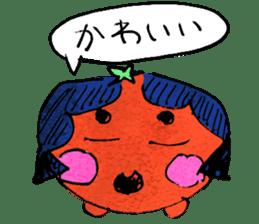 TALKING TOMATO sticker #12937669