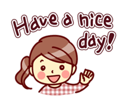 Cute stickers for women and girls.Second sticker #12939173