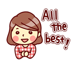 Cute stickers for women and girls.Second sticker #12939193