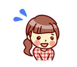 Cute stickers for women and girls.Second sticker #12939194