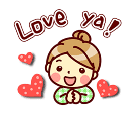 Cute stickers for women and girls.Second sticker #12939204