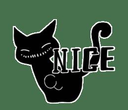 Shadow cat2 sticker #12939430