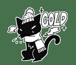 Shadow cat2 sticker #12939432