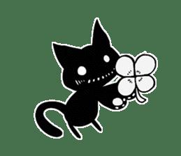Shadow cat2 sticker #12939434