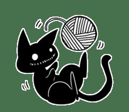 Shadow cat2 sticker #12939435