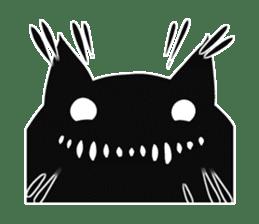 Shadow cat2 sticker #12939440