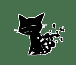 Shadow cat2 sticker #12939443