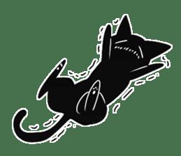 Shadow cat2 sticker #12939449