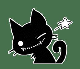 Shadow cat2 sticker #12939452