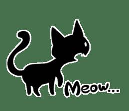 Shadow cat2 sticker #12939453
