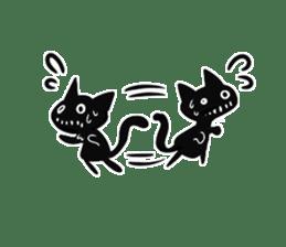 Shadow cat2 sticker #12939455