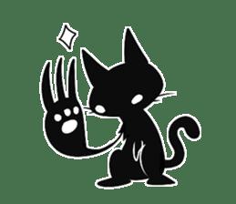 Shadow cat2 sticker #12939456