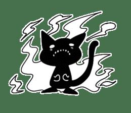 Shadow cat2 sticker #12939458