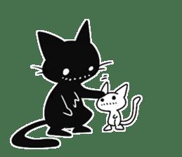 Shadow cat2 sticker #12939468