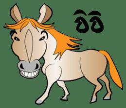 a Horse sticker #12944943