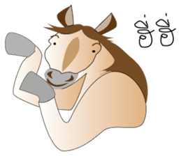 a Horse sticker #12944946